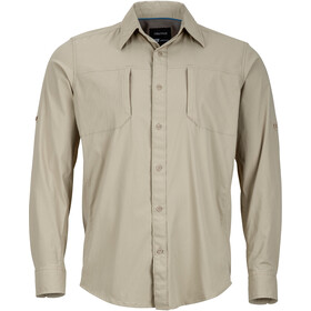 Marmot Trient LS Shirt Herre light khaki